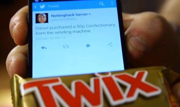 Вендинговый автомат стыдит за покупку шоколадок. Изображение № 1.