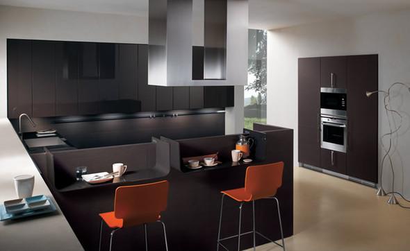 Сочетание цвета в интерьере кухни. Изображение № 6.