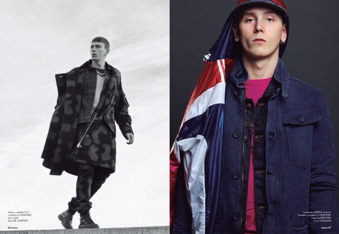 Вышли новые мужские съемки из Citizen K, Fashionisto, Vogue и других журналов. Изображение № 14.