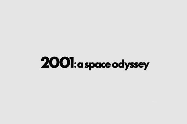 Шрифт с постера для фильма «2001 год: Космическая одиссея». На нём использованы Futura, Trade Gothic. Изображение № 1.