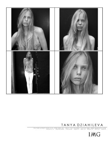 Tanya Dziahileva чистое сияние красоты. Изображение № 13.