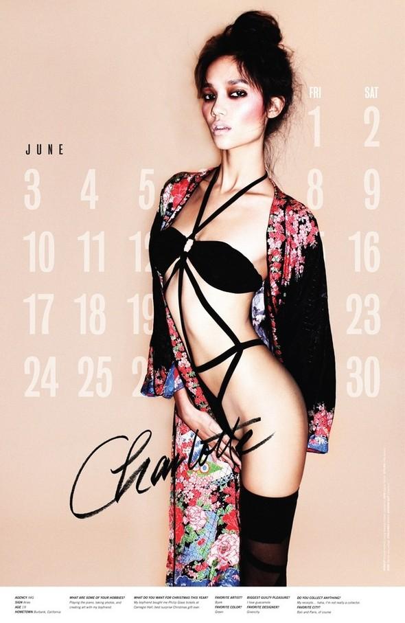 Съёмка: Календарь журнала LoveCat на 2012 год. Изображение № 7.