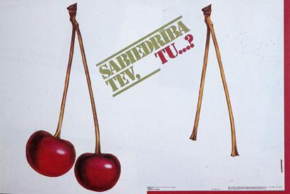 Пластическая экспрессия латышского плаката 70 – 80-егг. Изображение № 12.
