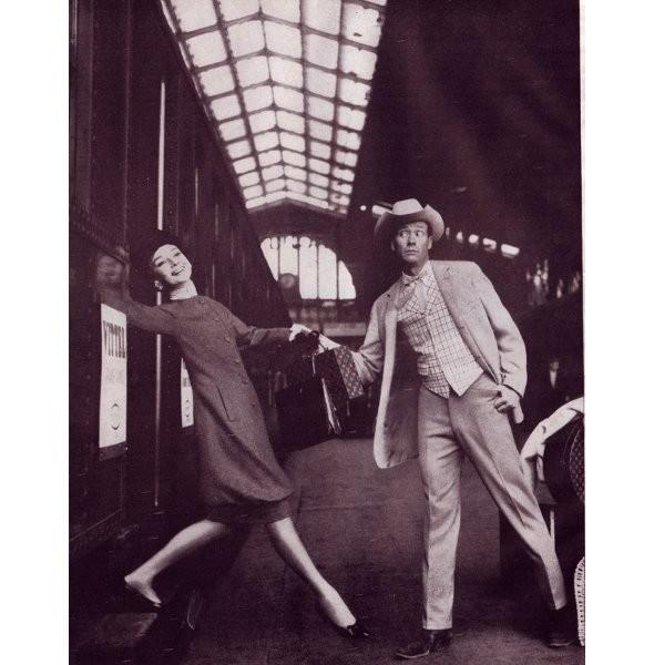 Архивная съёмка: Одри Хепберн для Harper's Bazaar, 1959. Изображение № 1.