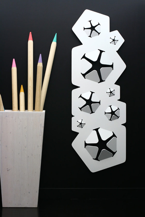 Радиатор Bloom от дизайнера Джованни Томашини. Изображение № 6.