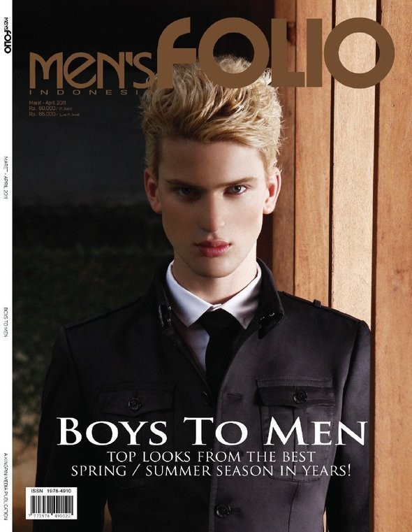 Изображение 3. Обложки: L'uomo Vogue, Esquire и другие.. Изображение № 5.