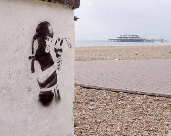 Изображение 19. Banksy (уличная мышь – герой).. Изображение № 19.