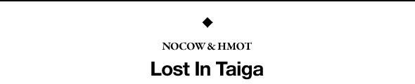 Премьера альбома: Сибирская электроника Nocow & Hmot «Lost In Taiga». Изображение № 1.