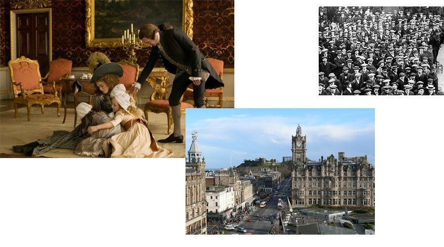 Слева направо, сверху вниз: аристократы, Шотландия и рабочий класс. Изображение № 4.