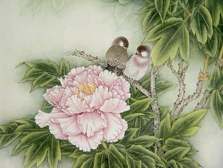 Птицы ицветы. Изображение № 14.