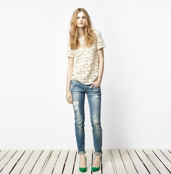 Изображение 4. Лукбук: Zara TRF April 2011.. Изображение № 4.