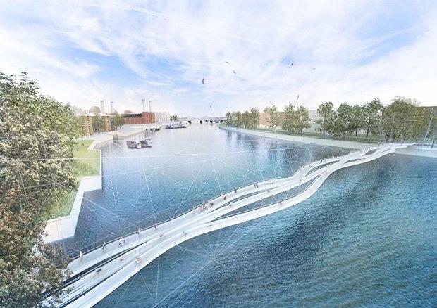 Выложены 74 проекта нового моста через Темзу. Изображение № 31.