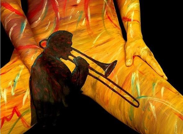 Боди-арт работы от Крейга Трейси. Изображение № 11.