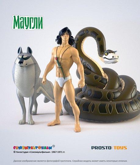 Появились официальные фигурки персонажей советского «Маугли». Изображение № 3.
