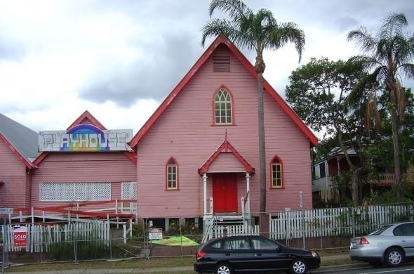 Церковь и театр до реконструкции.. Изображение № 7.
