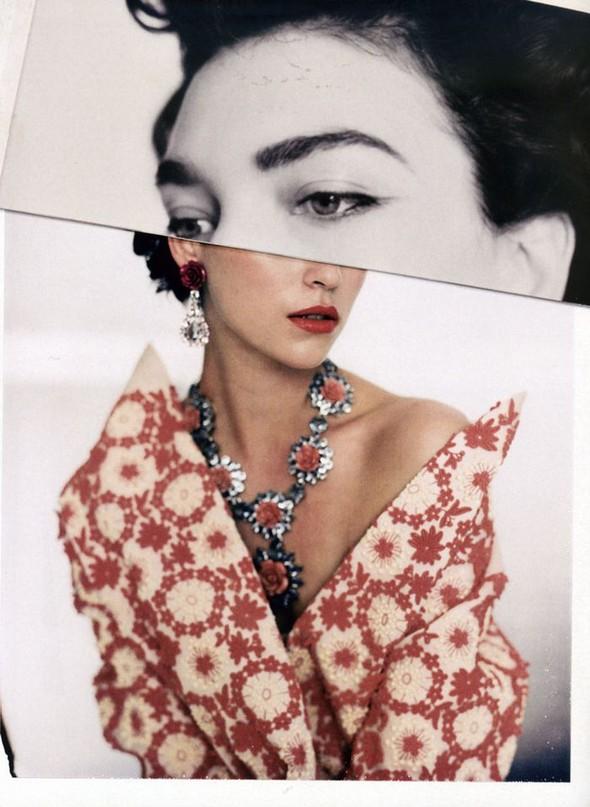 Съёмки: Стивен Майзел и Паоло Роверси для итальянского Vogue. Изображение № 20.