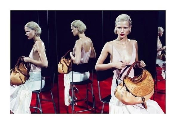 Изображение 40. Рекламные кампании: Celine, Marc Jacobs, Miu Miu и другие.. Изображение № 46.