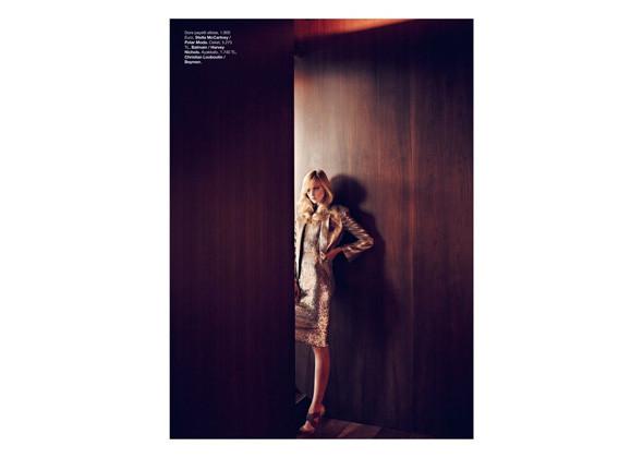 Хизер Маркс для турецкого Vogue, декабрь 2011 . Изображение № 147.
