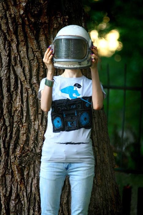 SHUTTLE – Интернет-магазин космических футболок. Изображение № 2.