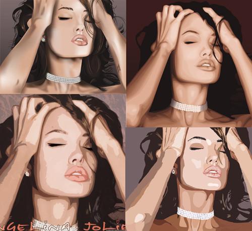 Три грации. Первая – Анджелина Джоли.  . Изображение № 2.