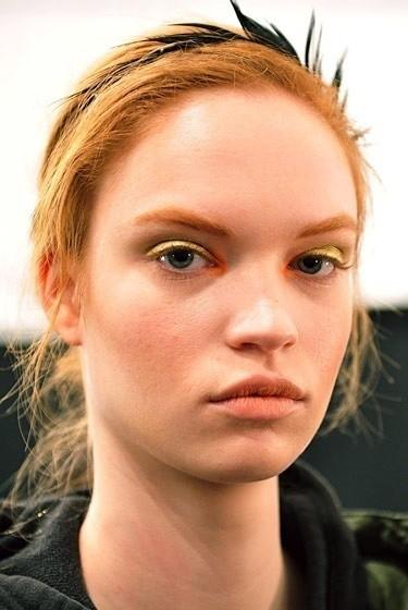 Изображение 23. Beauty looks на неделе моды в Нью-Йорке.. Изображение № 23.