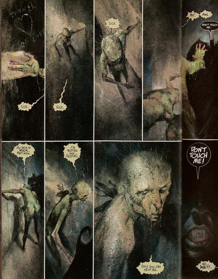 Dave McKean комиксы награни искусства. Изображение № 5.