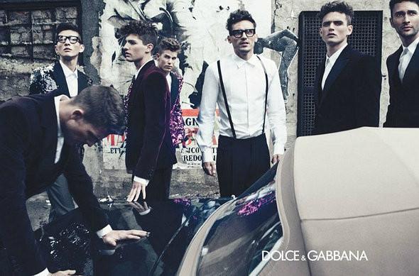 Изображение 3. Превью мужских кампаний: Jil Sander, Dolce & Gabbana и другие.. Изображение № 7.