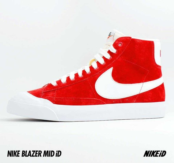 Nike X Liberty Summer Collection/  Blazer Mid iD.. Изображение № 32.
