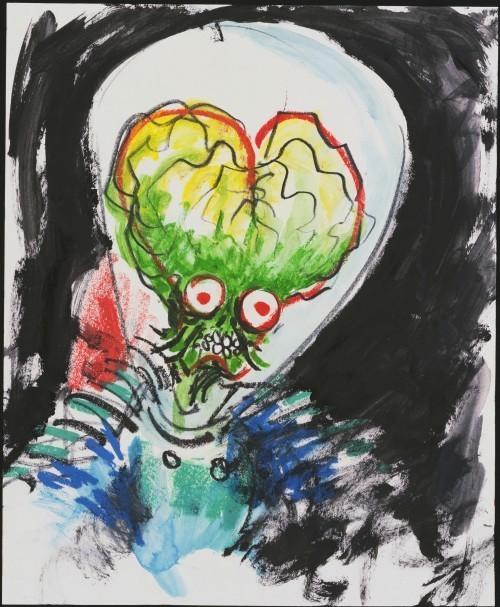 Тим Бартон в роли художника. Изображение № 4.