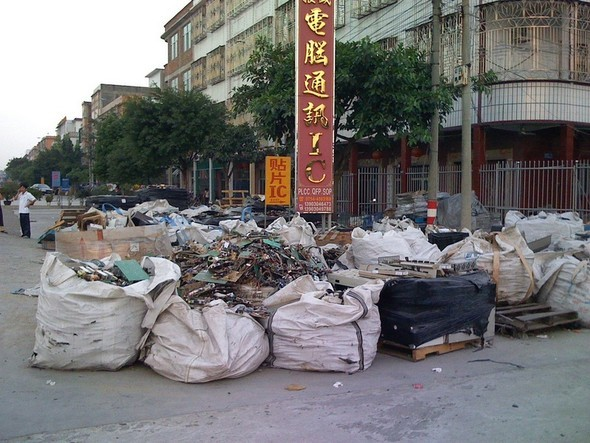 Китай - большая мировая электро-свалка. Изображение № 15.