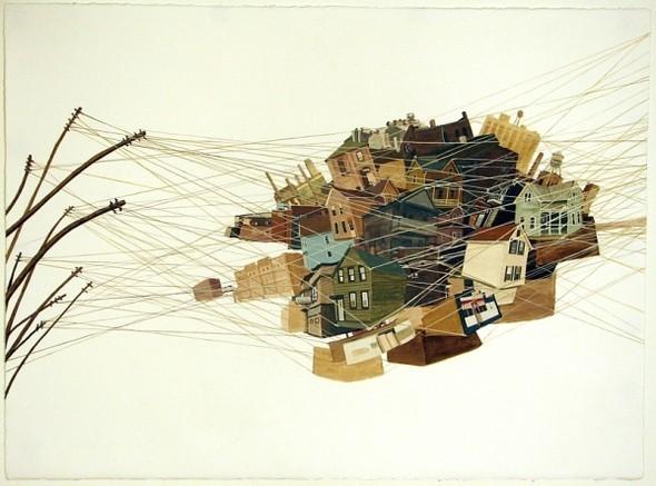 Города сточки зрения иллюстратора ЭмиКэйси. Изображение № 13.