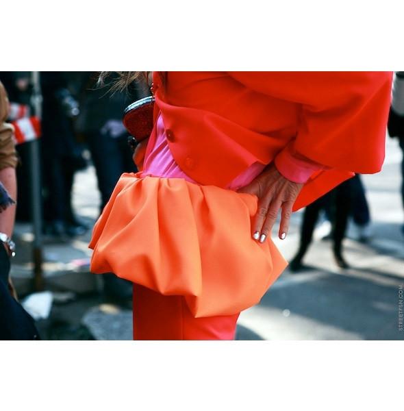 Изображение 51. На полях: 10 тенденций уличного стиля с прошедших недель моды.. Изображение № 51.