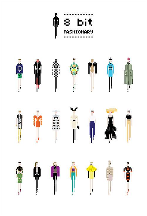8 bit Fashionary / 8 Модных бит. Изображение № 2.