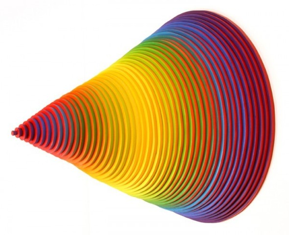 Абстракция из цветной бумаги. Изображение № 18.