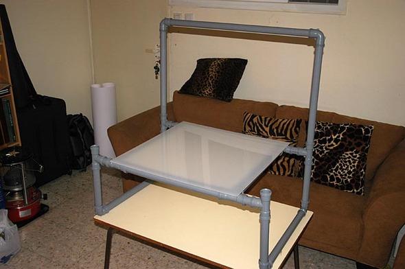 Каксамому сделать дешевый фото-стол. Изображение № 2.