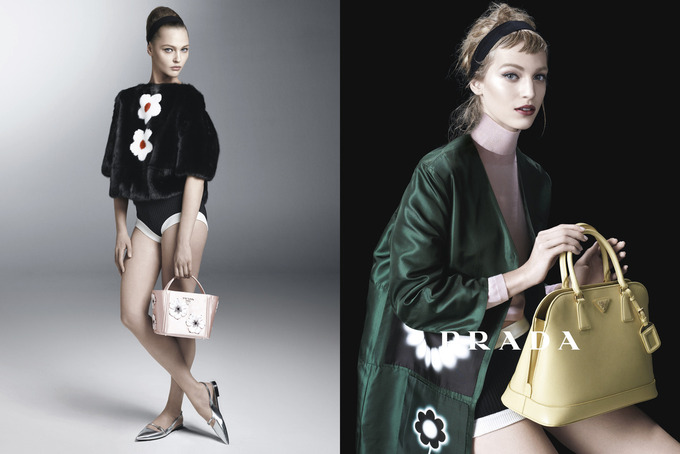 Вышла кампания Prada с Пивоваровой и Зиммерманн. Изображение № 3.