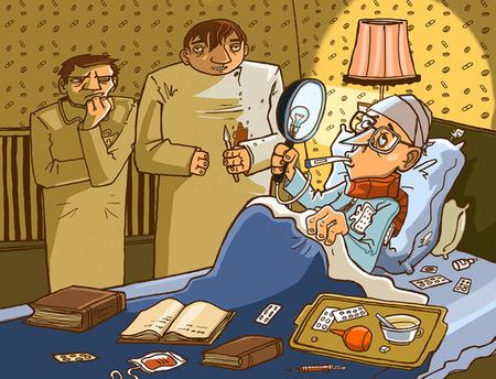 Ироничные иллюстрации Сергея Ратникова. Изображение № 24.