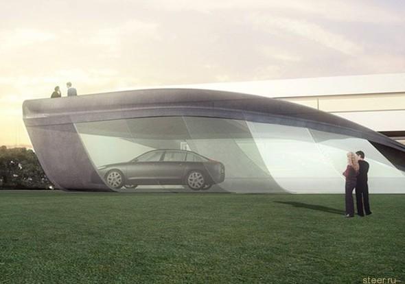 Дизайнерский гараж дляCitroen C6. Изображение № 1.
