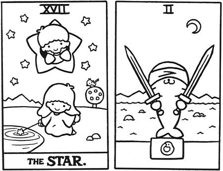 Hello Kitty Таро. Изображение № 23.