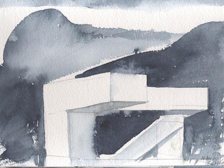 Архитектурные акварели стивена холла. Изображение № 27.