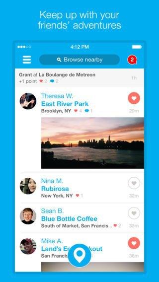 Обновилось приложение Foursquare для iOS 7. Изображение № 4.