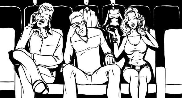 Изображение 1. Как вести себя в кино: Десять правил хорошего тона.. Изображение № 3.