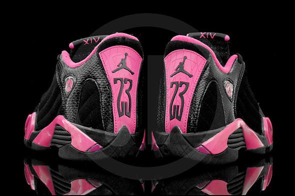 Air Jordan 14 (Desert pink). Изображение № 4.