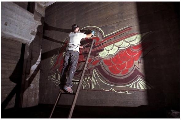Подземное искусство в Нью-Йорке, светящееся кладбище в Лондоне и другие новости. Изображение № 2.