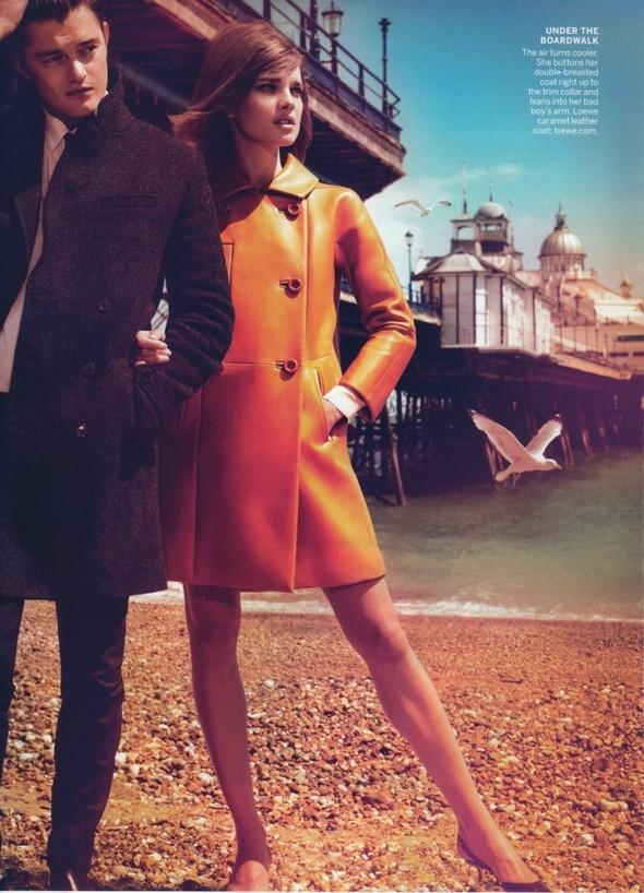 Съёмка: Наталья Водянова для Vogue. Изображение № 8.
