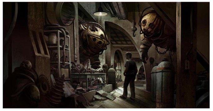 Опубликованы концепт-арты экранизации Bioshock. Изображение № 16.
