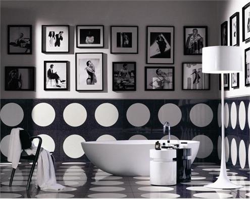 черно белые фотографии в интерьере