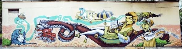 Стас Каневский: граффити во плоти. Изображение № 3.