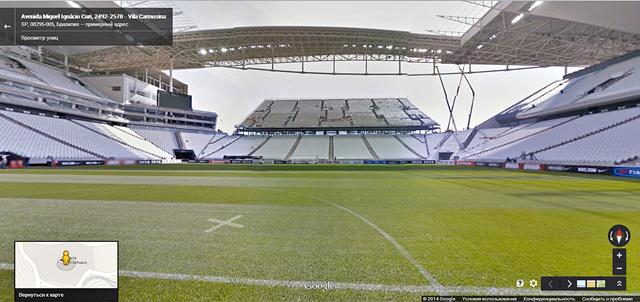 Стадион Arena Corinthians в Сан-Паулу. Изображение № 1.