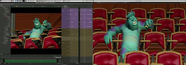 Pixar показала, как делаются мультфильмы. Изображение № 1.